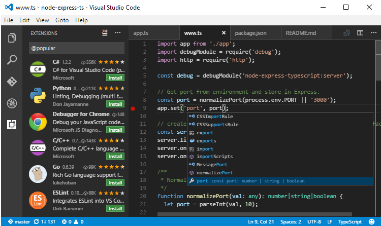 Visual Studio Code